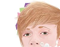 Self Portrait - 'Buttons'