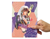 Collage art for COLLECT showroom at Berlin Fashion WEEK