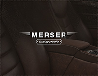 MERSER Tuning Studio Landing Page