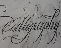 Sheaffer broad-nib rough Calligraphy