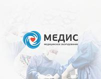 MEDIS medical equipment Landing Page