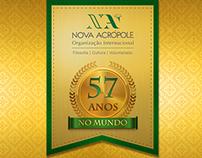 Selo de 57 anos da O.I.N.A