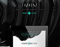 Hi-ReS! Website Design