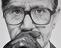 Gary Oldman - pencil portrait