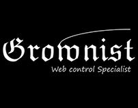 GROWNIST OF HJWORKS INC (WEB CONROLLER) LOGO