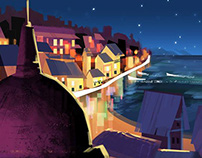 Night in Portofino