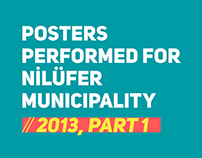 Posters performed for Nilüfer Municipality // 2013, P1