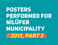 Posters performed for Nilüfer Municipality // 2013, P2