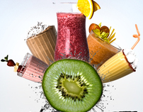 """Advert.Poster/""""Smoothie"""""""