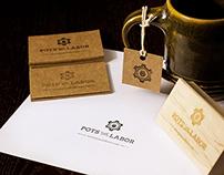 Pots and Labor branding