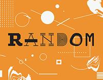 Random – Typeface
