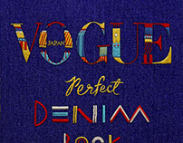 Vogue Japan Perfect Denim
