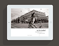 En la ciudad - Photography & Poetry on iPad