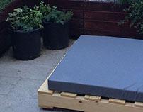 Terrace furniture design