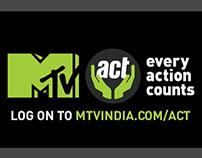 MTV ACT packeging