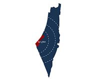 "Gaza Infographic ""1"""