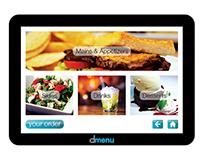 dmenu (digital menu)