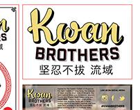 Kwan Brothers Logotype