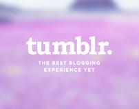 D // Tumblr Redesign