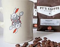 PT's Coffee Roasting Co. Artist Series 2014