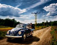 """Volkswagen """"Bertta"""" Bug 1969 #Volkswagen"""