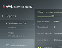 AVG Antivirus Redesign Concept