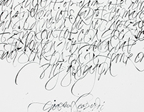 Calligraphy // different styles and periodes [1]