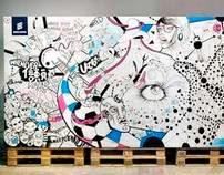 Living Wall - Ericsson & Jack Morton Worldwide - MWC'11