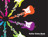 Guitar Color Book