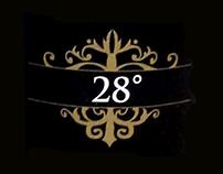 28° Wine Label