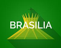 Brazil 2014 Host Cities - Brasilia