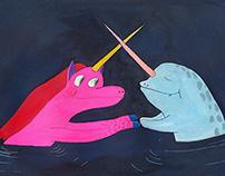 unicorn narval