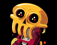 RGB Dreams - Owl John Gig Poster