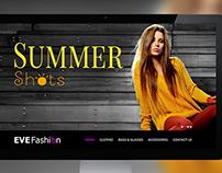 EVE Fashion - Responsive Web Template