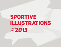 Sportive Illustrations // 2013