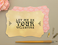 Typography / Valentine Card