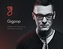 Gigpop UI & UX