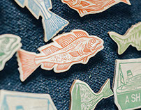 Brooches & Prints
