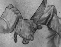 Abraham and Isaac Tattoo