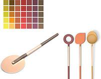 ZAK Funny silicon and copper tools