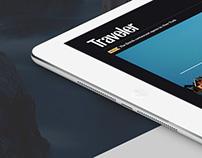 Traveller Magazine redesign