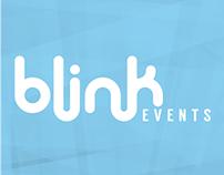 Blink Events branding