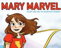 Mary Marvel fan comic