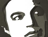 Papercut Portrait: Uttam Kumar