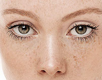 Freckles Beauty - Retouching