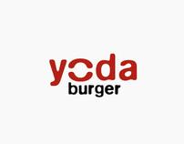 Yoda Burger Logo & Identity