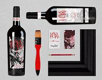 Malaroja Wine Label