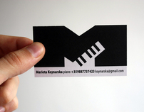 Some musicians business cards