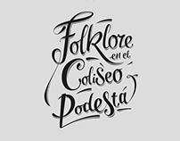 Folklore en el Coliseo Podestá