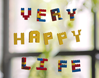 Very Happy Life Title Sequence